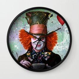 Alice in wonderland- Mad Hatter Wall Clock