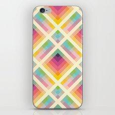 Retro Rainbow iPhone Skin