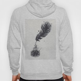 Quill and ink well Hoody