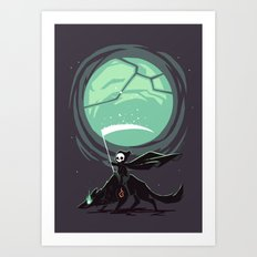 Little Reaper Art Print