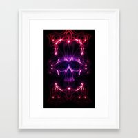 death star Framed Art Prints featuring Death star by Cozmic Photos