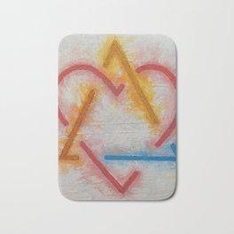 Adoption Symbol Bath Mat