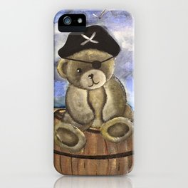 Pirate Ahoy Teddy iPhone Case
