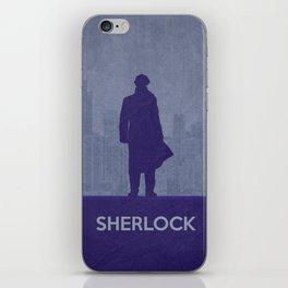 Sherlock 02 iPhone Skin
