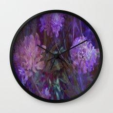 sea flowers Wall Clock