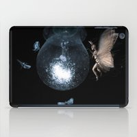 moth iPad Cases featuring Moth by Ink Bird Art