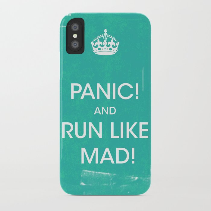 PANIC iPhone Case