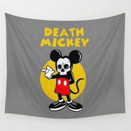 death mickey Wall Tapestry