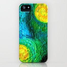 Encaustic Series - Haystacks iPhone Case
