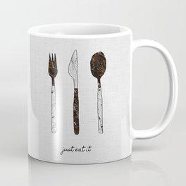 Just Eat It, Music Quote Coffee Mug