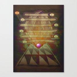 RetroFuture / Evolution-01 Canvas Print