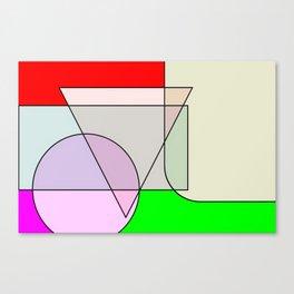 Colorandform mixery 3 Canvas Print