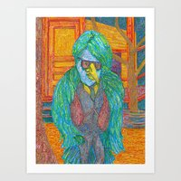 lawyer Art Prints featuring The Southern Bird Lawyer by smoothimages