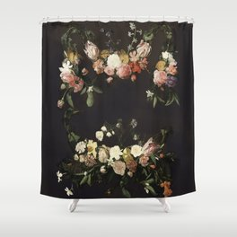 Every hour of the light and dark is a miracle Shower Curtain