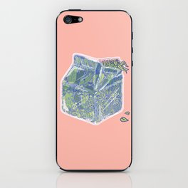 Plant Milk iPhone Skin
