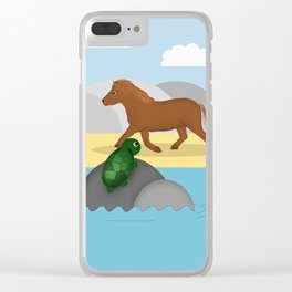 Part of your world Clear iPhone Case