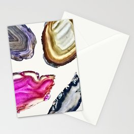 Agates Stationery Cards