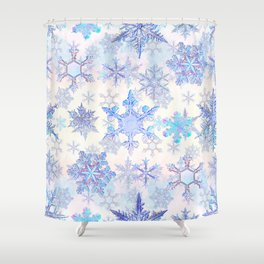Snowflakes #4 Shower Curtain