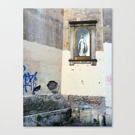 Wall in Rome  Canvas Print