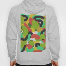 tropical pattern Hoody