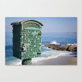 Lifeguard Box Canvas Print