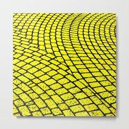 Yellow Brick Road Metal Print