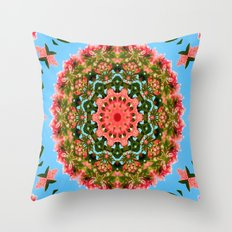 Mandala - Paradise Throw Pillow
