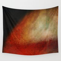 planet Wall Tapestries featuring Planet by Emma Harckham
