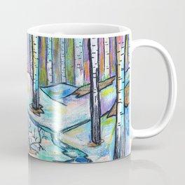 Early Spring in Birch Grove Coffee Mug