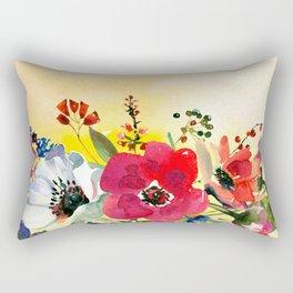 Flowers bouquet #44 Rectangular Pillow