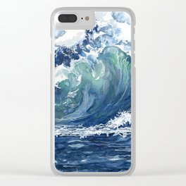 Kai's Wave Clear iPhone Case