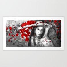 Kazane [ No Sound but the wind] Art Print