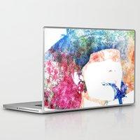 hepburn Laptop & iPad Skins featuring Audrey Hepburn by Heaven7