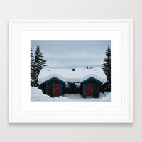 sweden Framed Art Prints featuring Sweden by Kimberly Vogel Travel Photographer