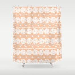 perfect peach Shower Curtain