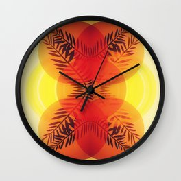 NEVER HIDE THE SUN Wall Clock
