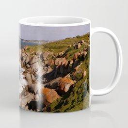 Rocky Island Coastline Coffee Mug