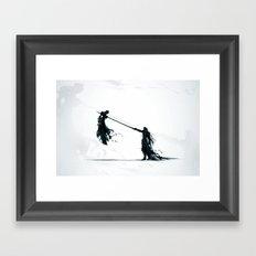 Ow Framed Art Print