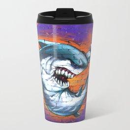 Graffiti Shark Travel Mug