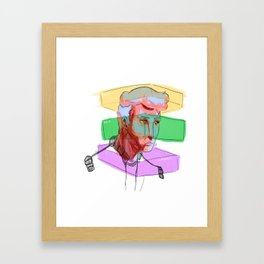 Contempt Framed Art Print