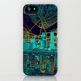 louisville skyline abstract iPhone Case