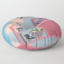 A Night In Floor Pillow