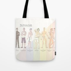 Kinsey Scale Tote Bag