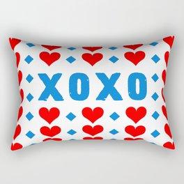 Hugs and Kisses Rectangular Pillow