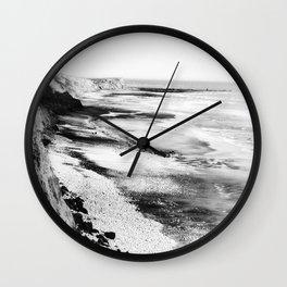 On Edge Wall Clock