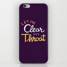 Clear iPhone & iPod Skin