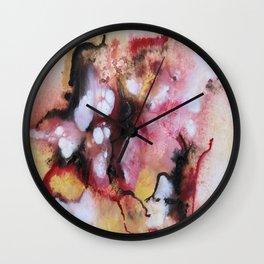 Abstract 1 by Saribelle Wall Clock