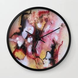 Abstract 1 by Saribelle Wall Clock