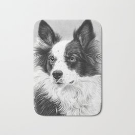 Dog Portrait 02 Bath Mat