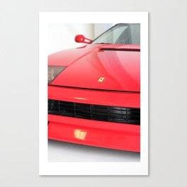Ferrari Print by K Maono Canvas Print